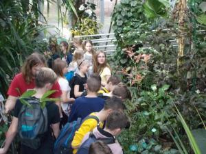 Klasa VI w Zoo i Palmiarni
