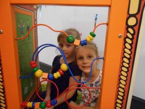 Mikołajki przedszkolaków w sali zabaw