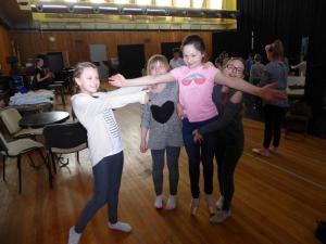 Warsztaty teatralne klas czwartych